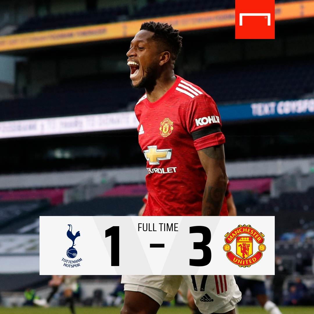 BREAKING: Manchester United Comes From Behind To Beat Tottenham - #TOTMNU