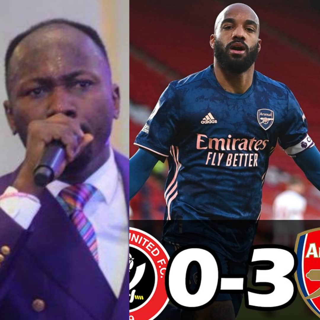 #SHEARS: Apostle Suleman Send Strong Warning To Chelsea Fans After Arsenal Wins Sheffield